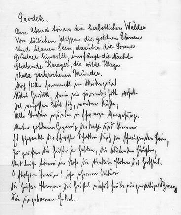 Beat Links : un peu de poésie dans ce monde de brutes Trakl_bucheinband